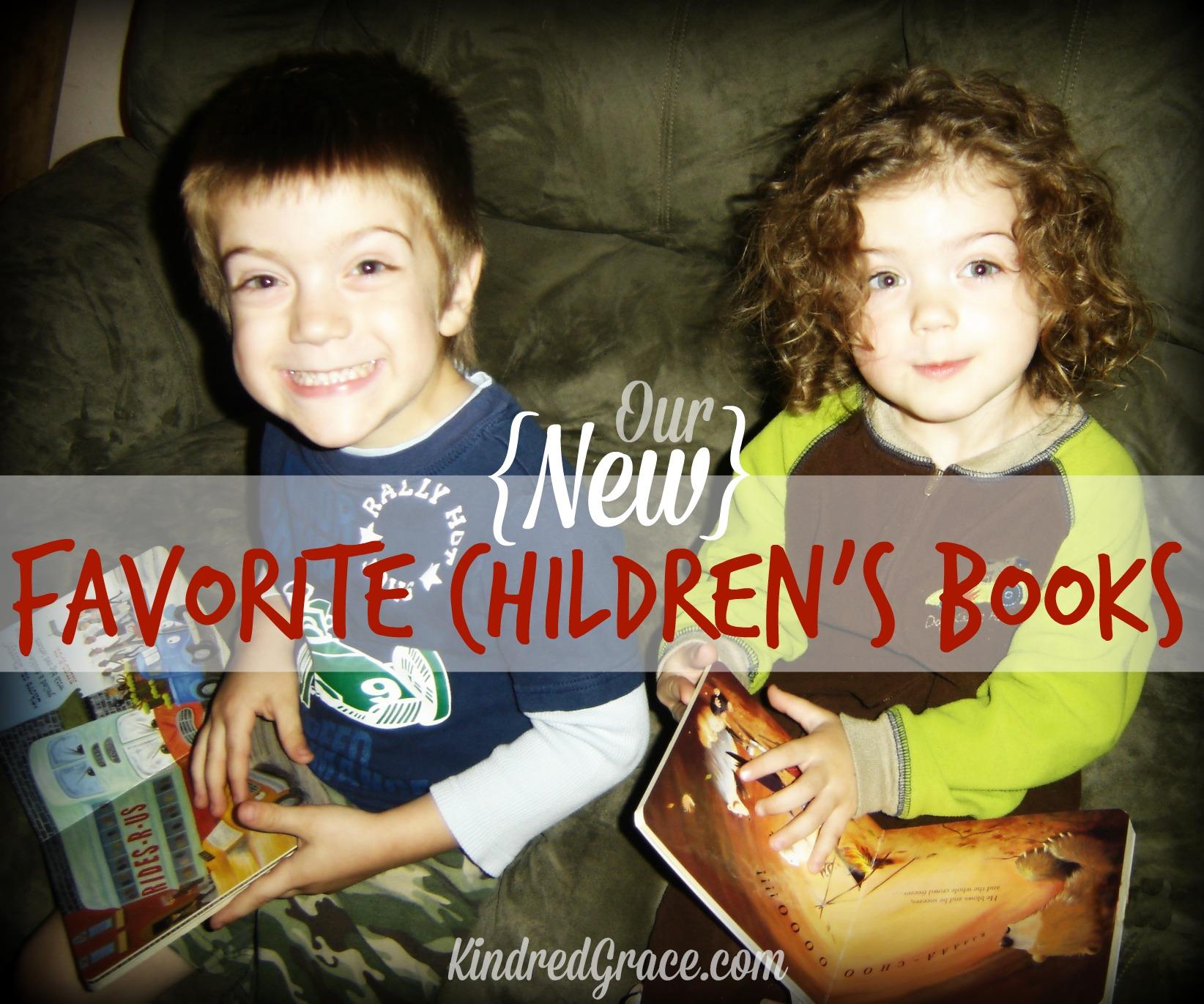 Our (new) Favorite Children's Books