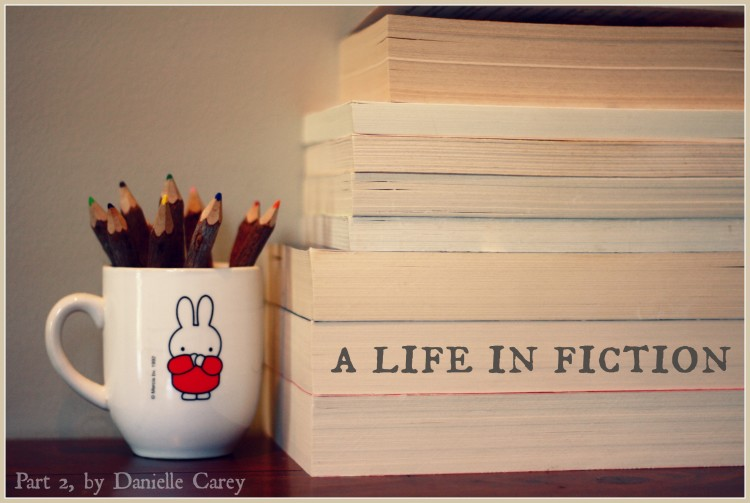 life in fiction - part 2 #MarchOfBooks