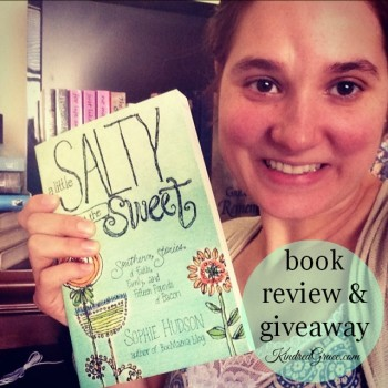A Little Salty to Cut the Sweet (review & #giveaway #MarchOfBooks)