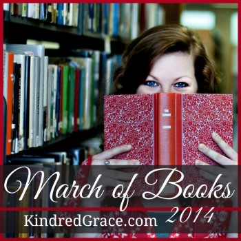 #MarchofBooks 2014 at @KindredGrace