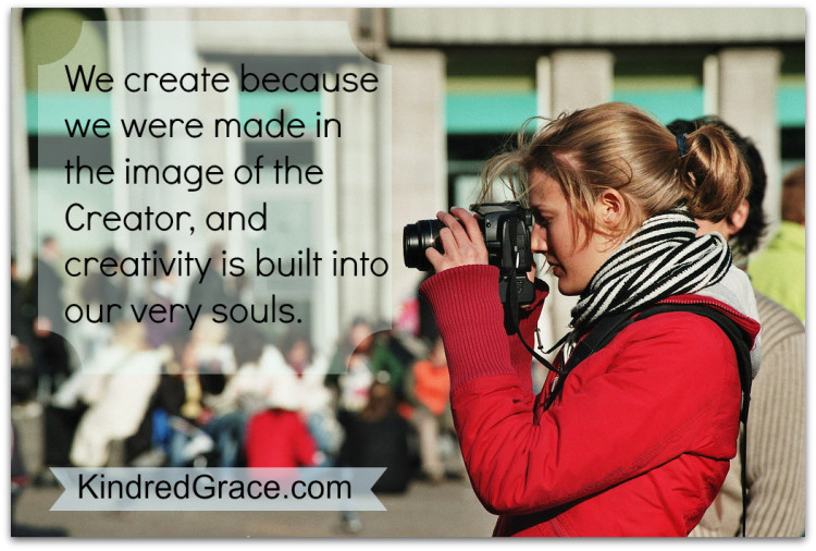 We create because we are made in the image of our Creator. #MarchOfBooks