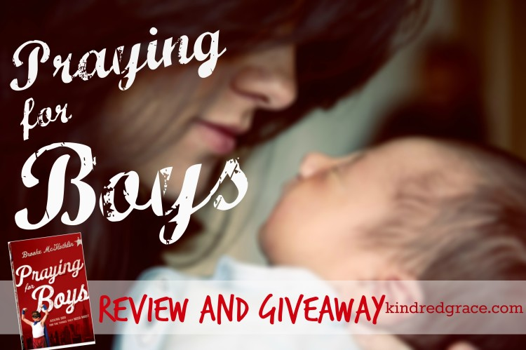 #PrayingForBoys review & #giveaway #MarchOfBooks