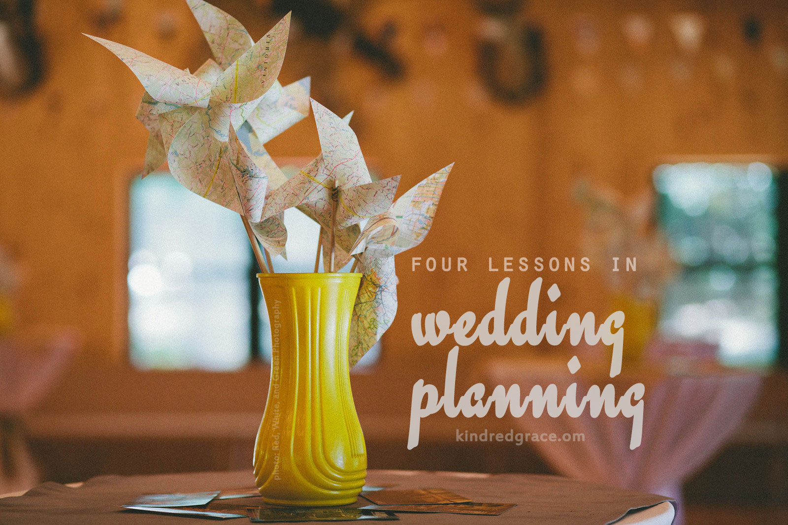 4 Lessons in Wedding Planning