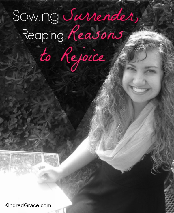 Reaping Reasons to Rejoice