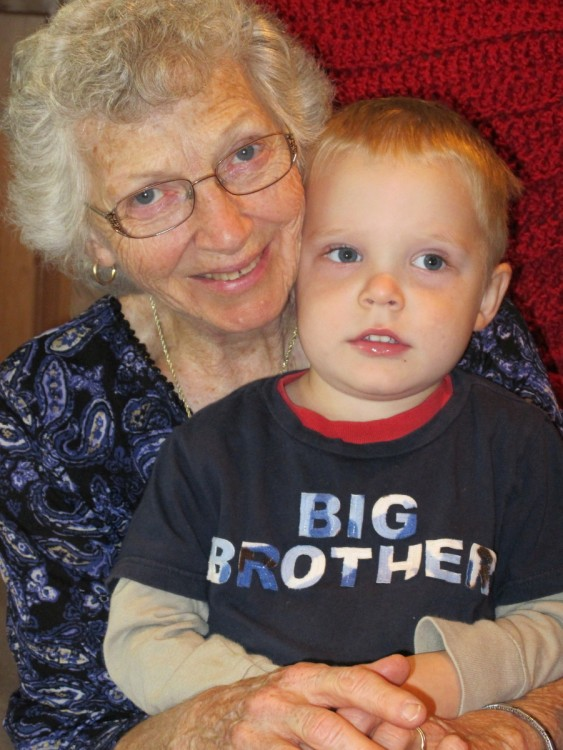 Great Grandma and Big Brother