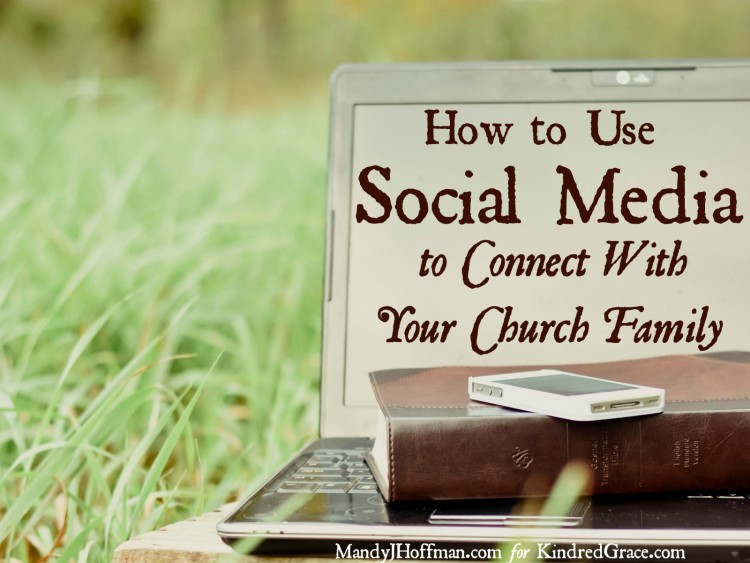 Social media should not drive us away from real community; it should draw us to it. We should use social media to connect even more with those that are part of our local--and global--church family.
