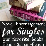 Novel Encouragement for Singles (our favorite fiction & non-fiction books)