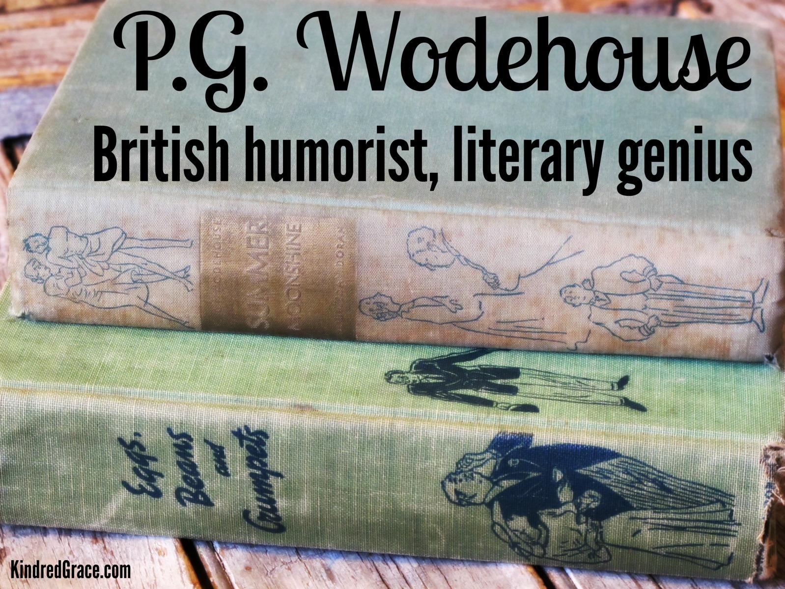 P.G. Wodehouse: British humorist, literary genius