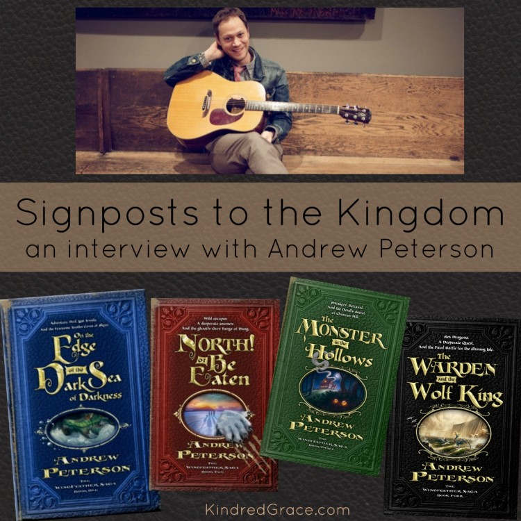 an interview with Andrew Peterson