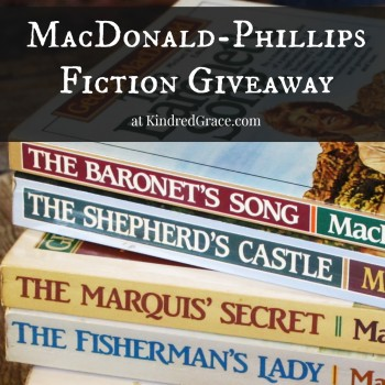It's a #giveaway for some of our favorite fiction by George MacDonald (edited by Michael Phillips)!