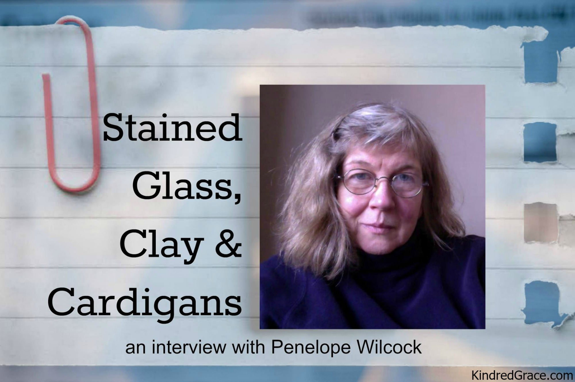 Of Stained Glass, Clay and Cardigans: An Interview with Penelope Wilcock