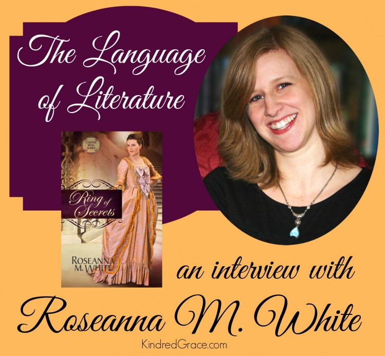 an interview with Roseanna M. White