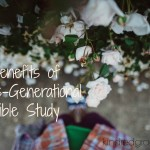 benefits of cross-generational Bible study