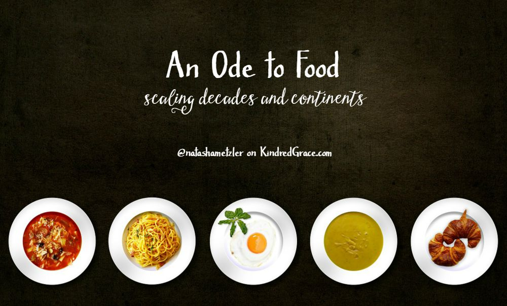 An Ode to Food: Scaling Decades and Continents