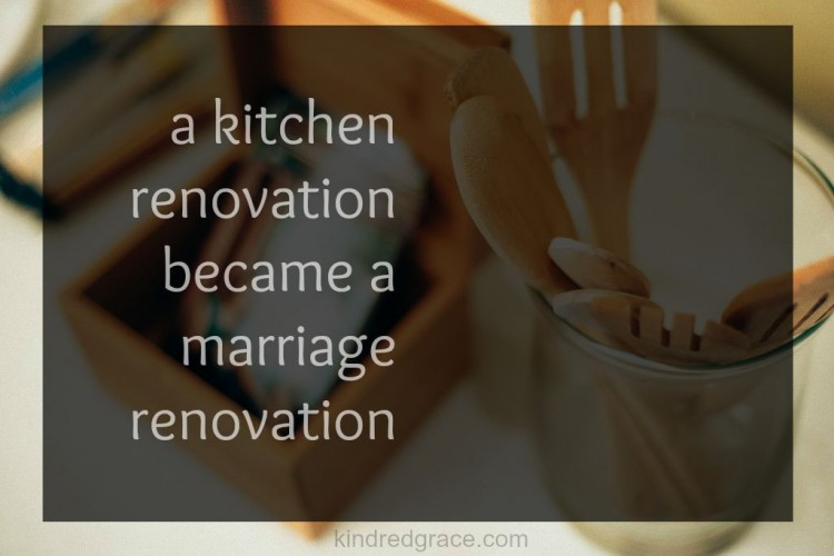 a marriage renovation