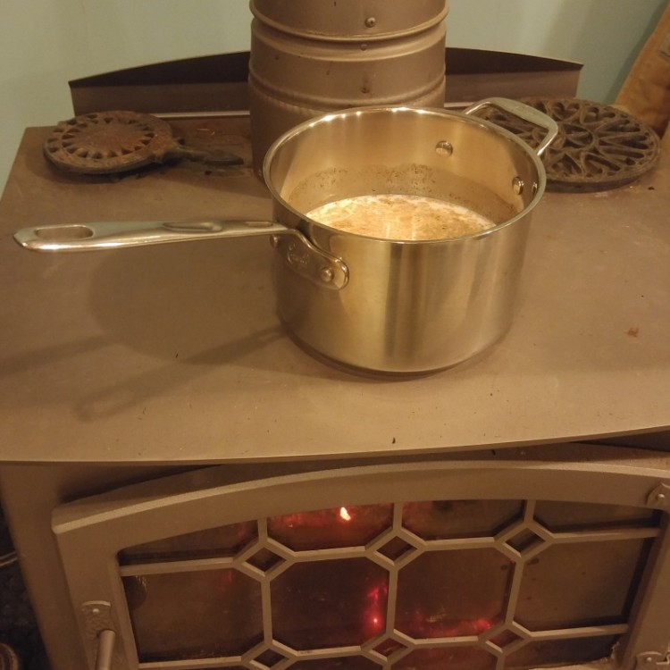 easy eggnog on the stove