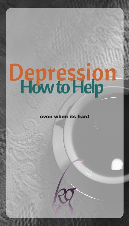 Depression: How to Help