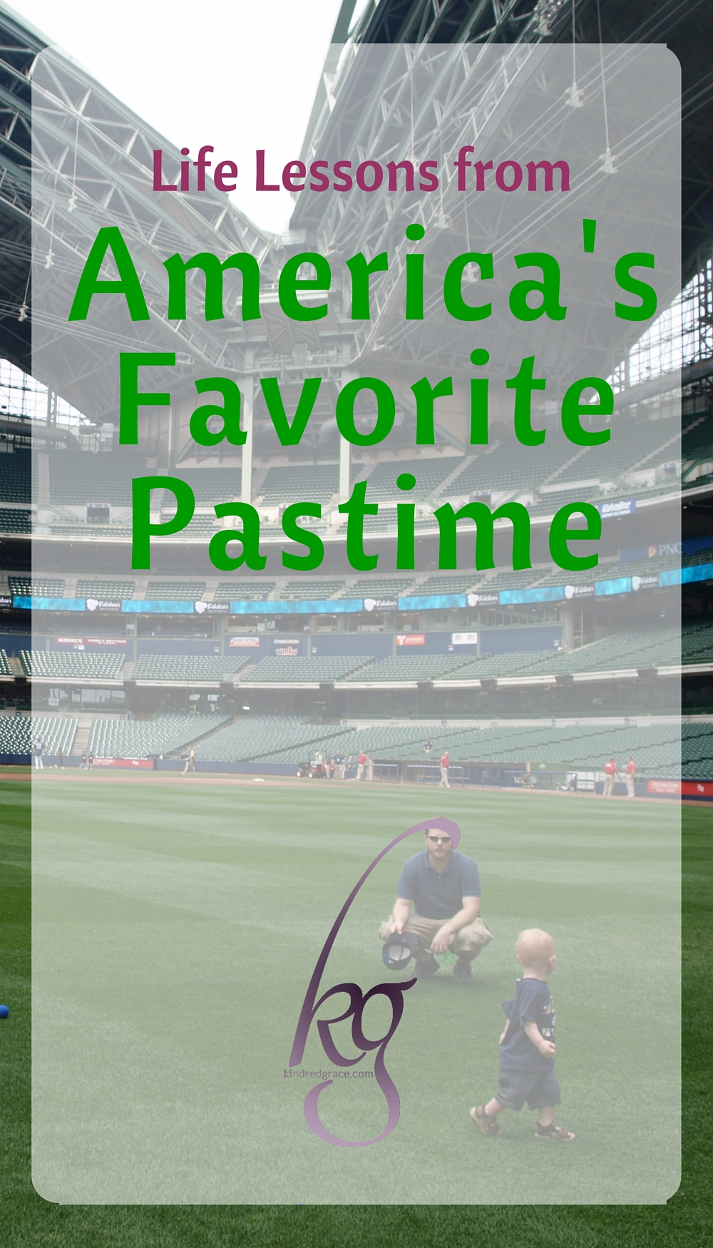 Life Lessons from America's Favorite Pastime via @KindredGrace