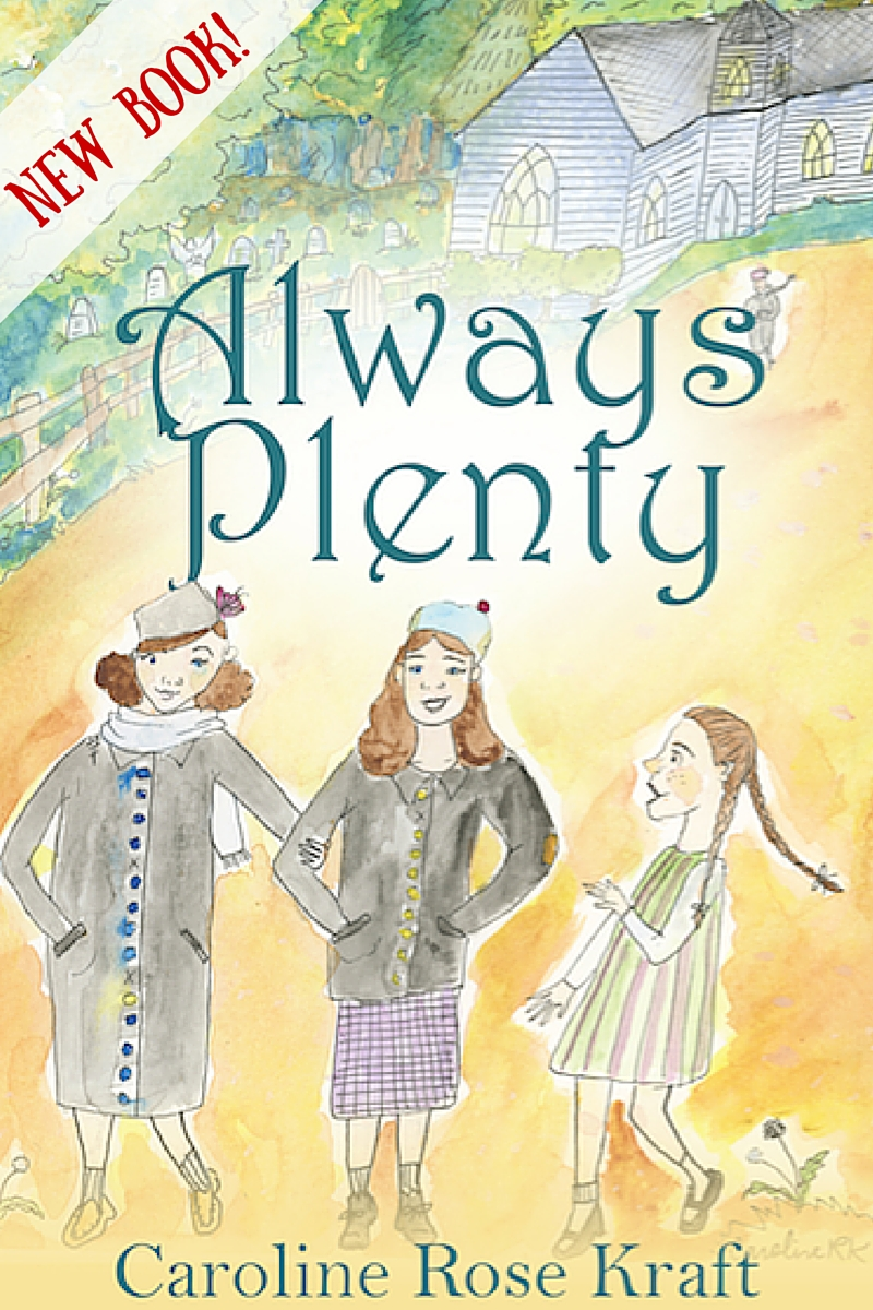 Announcing the debut of #AlwaysPlenty, the true story of Eddie Ogan and the rich family in the church, re-written for children by Caroline Rose Kraft. via @KindredGrace