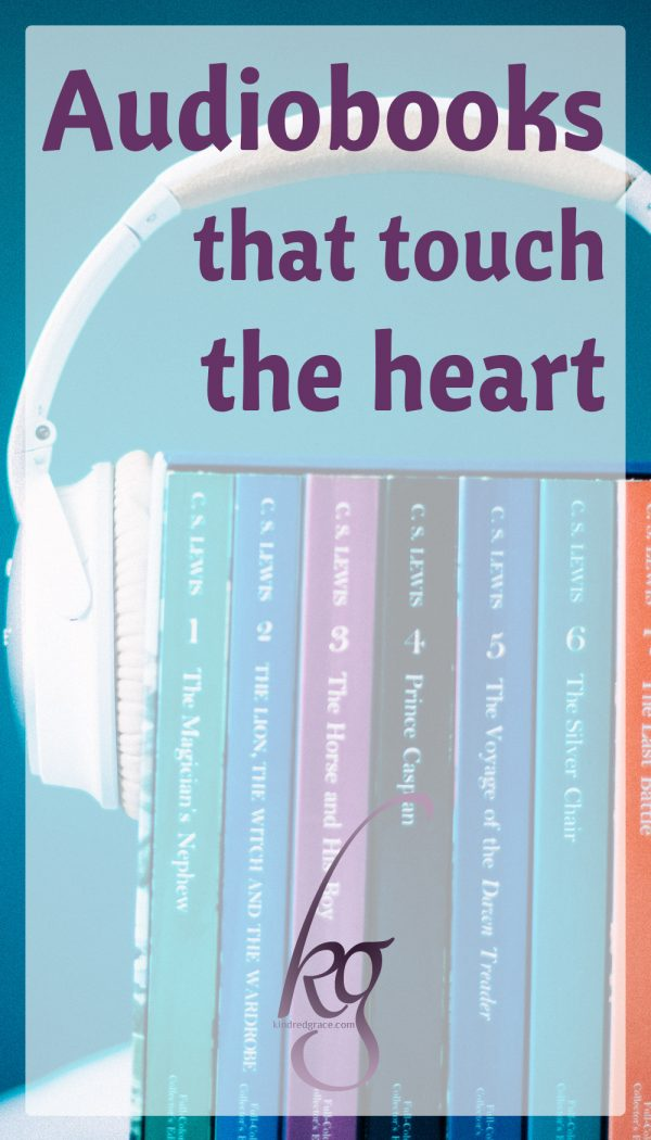 Audiobooks that touch the heart.