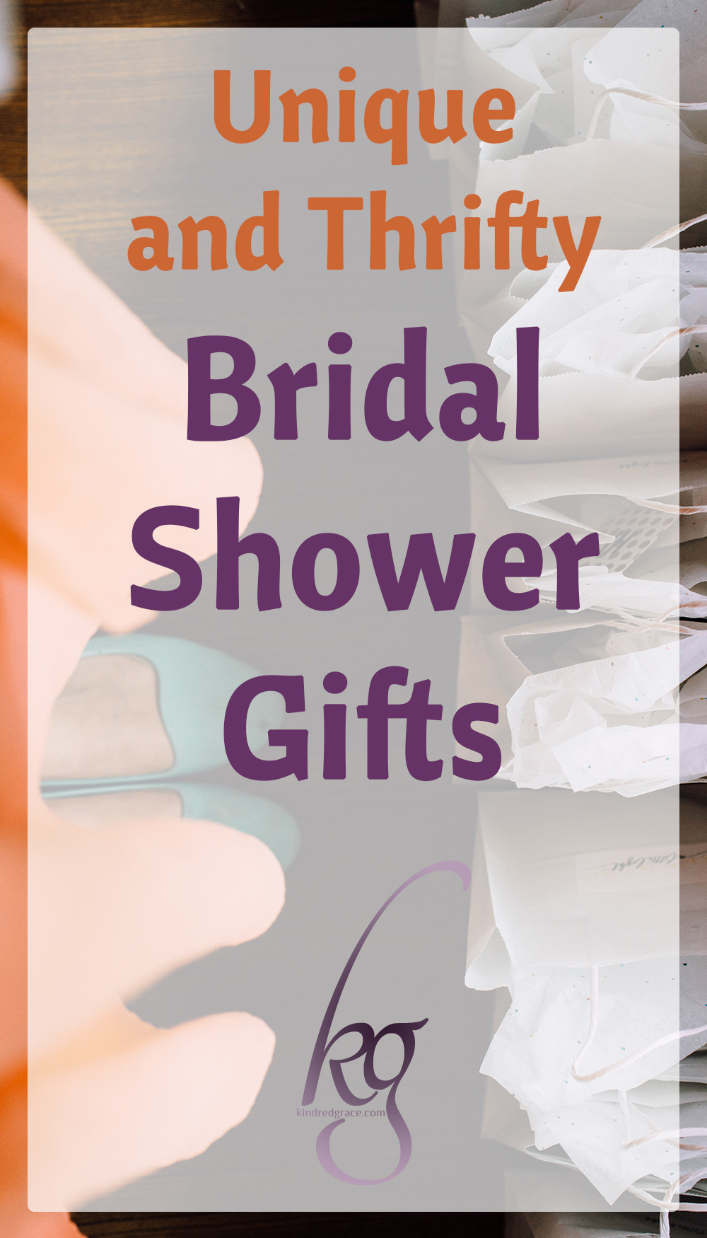 7 Unique and Thrifty Bridal Shower Gifts via @KindredGrace