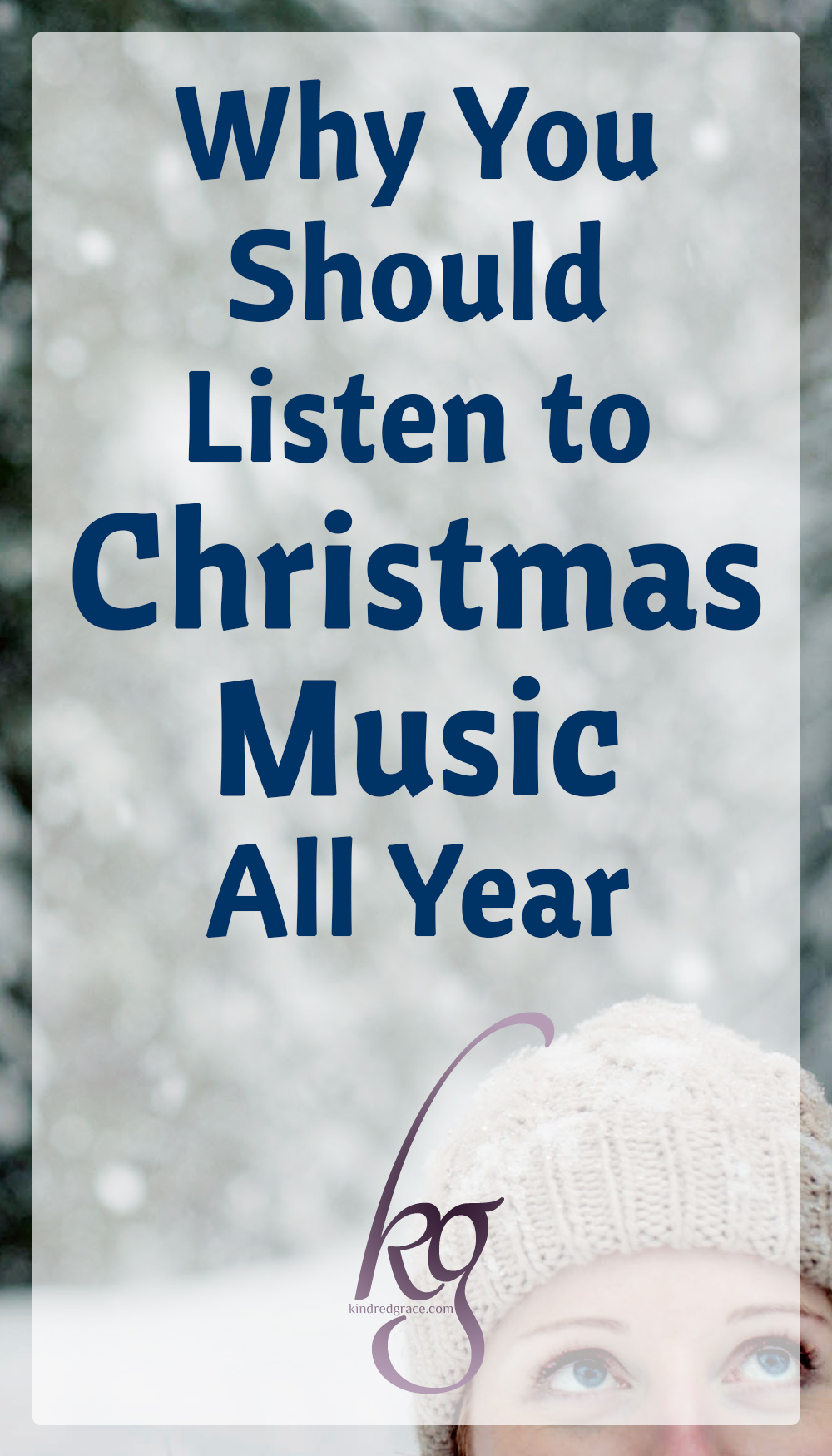 "If Facebook can be trusted, there are two types of people in the world: those who listen to Christmas music year-round and those who only listen to it in December. I fall in the former category as the majority of the Christmas music I like is just music that celebrates Christ and His coming...and that's something to be celebrated year-round! And as much as I love the old Christmas carols (especially those that have lots of obscure verses!), I also enjoy songs I've never heard before, that take the ""old"" thoughts expressed in the traditional Christmas carols and make them new. via @KindredGrace"