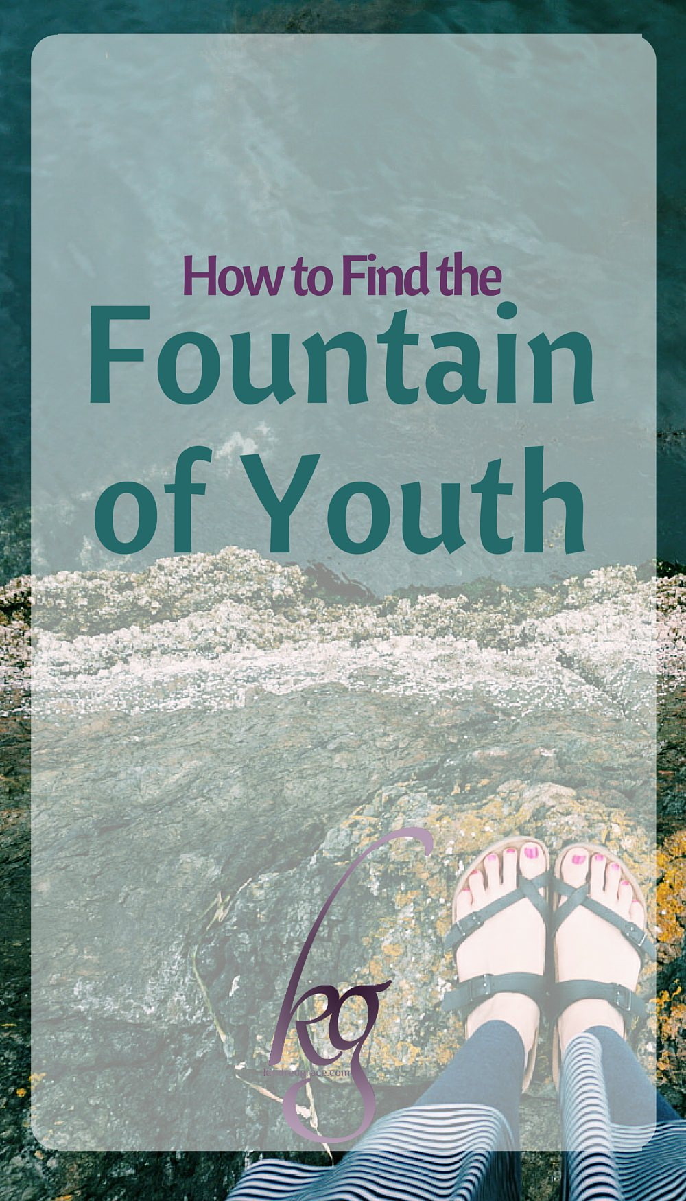 If my Grandma was any indication, then the true fountain of youth can be found in that unfettered love of Jesus. via @KindredGrace