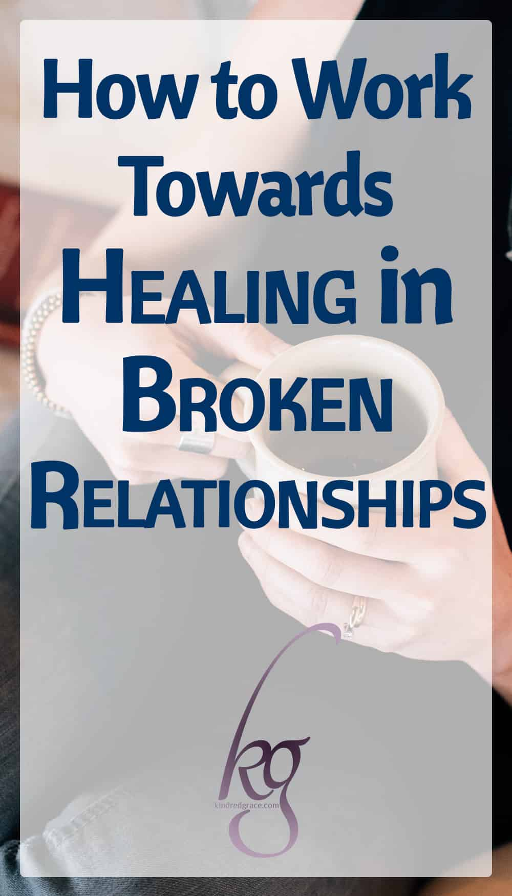 Sometimes the loss of some relationships can never be bridged, either because of death or distance or abuse, but that doesn't mean we can't still experience healing. And in many other cases, there are truly healthy ways to step back into relationship in a way that honors God and others. via @KindredGrace