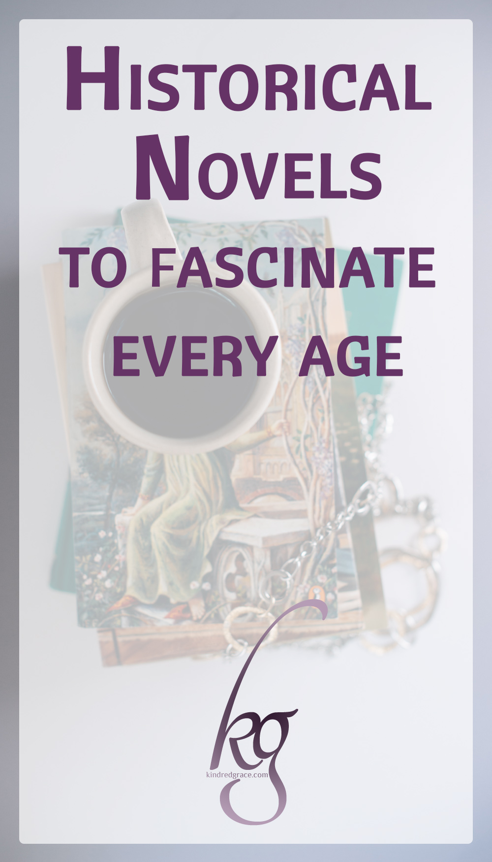 Whether you love historical fiction or you're searching for some books to suggest to or buy for your daughter or friend, I hope you find this list a springboard into a beautiful genre where time travel is made possible by good books. via @KindredGrace