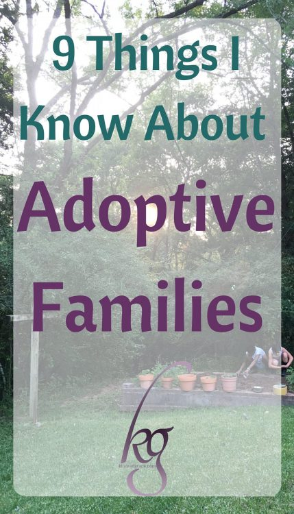 Just because someone adopts, doesn't mean they are the offspring of superman and Mother Teresa. As a matter of fact, adoptive moms are 78% more likely to lose their cool on a Sunday morning. Okay, I just pulled that statistic out of a misplaced shoe, but adoptive families are just as flawed as any family.