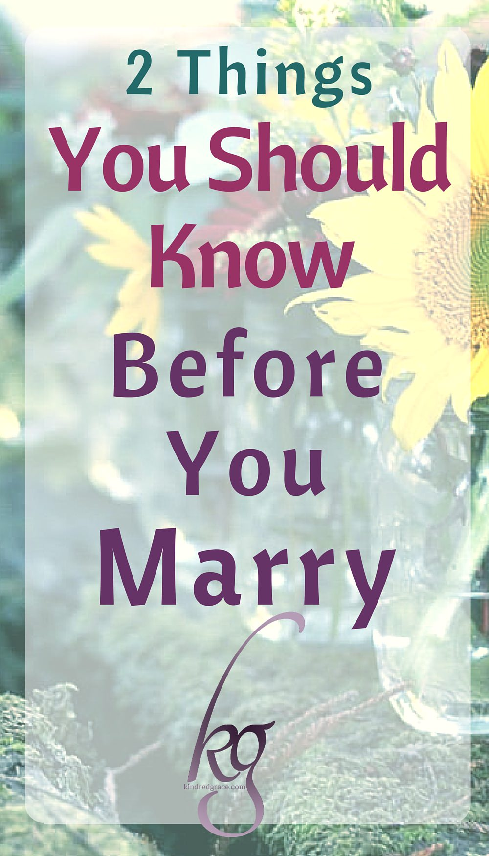 There is a lot of natural maturing that takes place from ten to twenty years old, of course, but there are two things I am purposing to teach my children now before they are old enough to think about marriage. via @KindredGrace