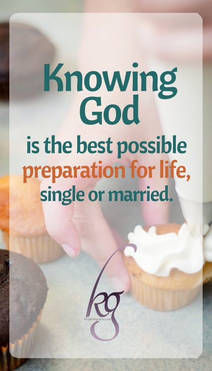 Knowing God is the best possible preparation for life.