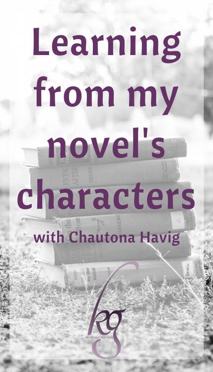 Learning from my novel's characters