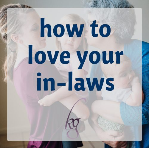 how to love your in-laws