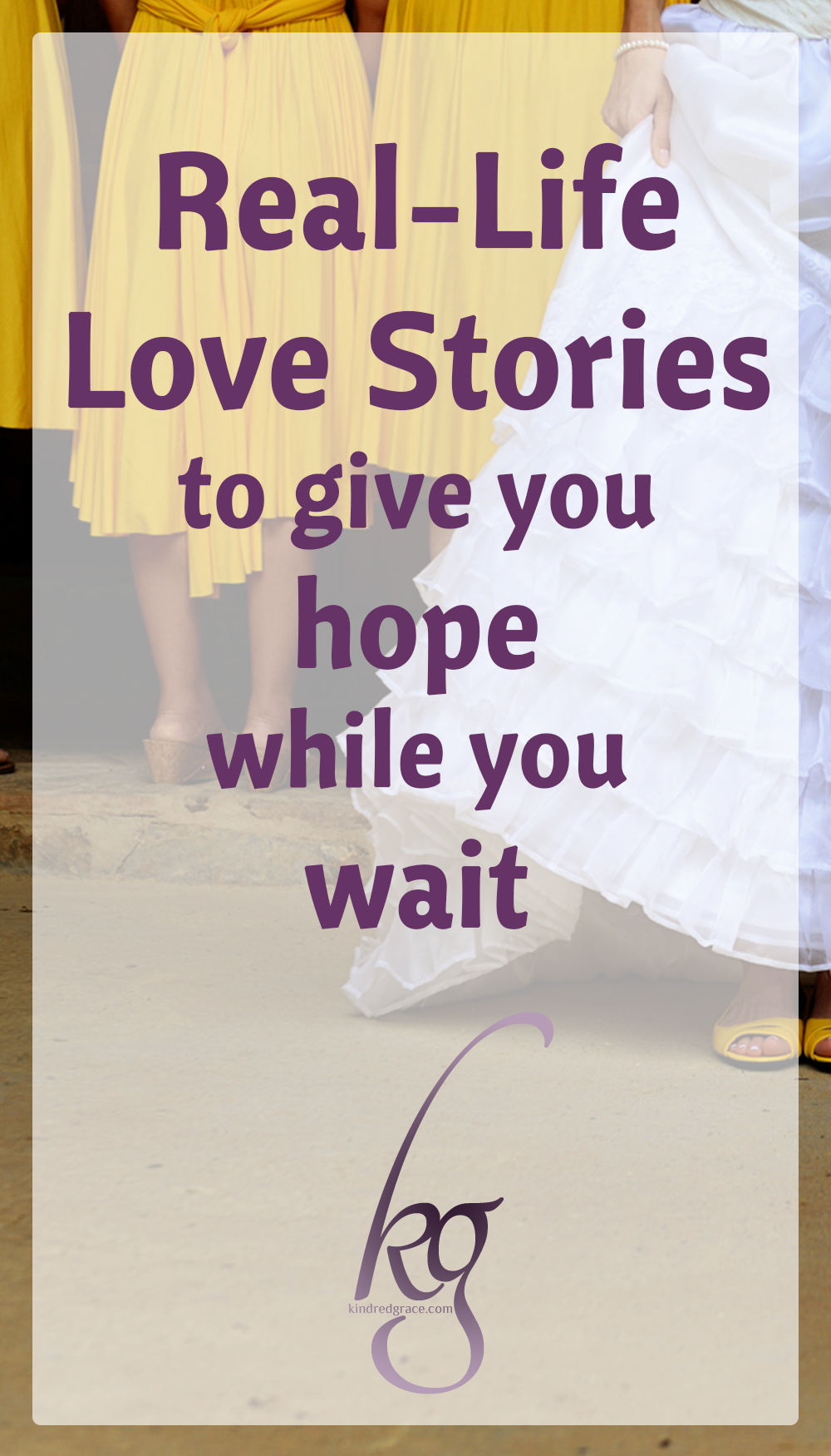 True stories show me another facet of our Heavenly Father. They help me glimpse how He works, and Who He is. While we're waiting, why not enjoy these stories that – in the end – are really all about Him? via @KindredGrace