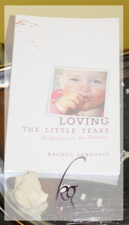 "It's a little book packed with a lot of food for thought. You may not agree with all of it. But ""Loving the Little Years"" by Rachel Jankovic will challenge and encourage you as a mom."