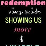Redefining Redemption