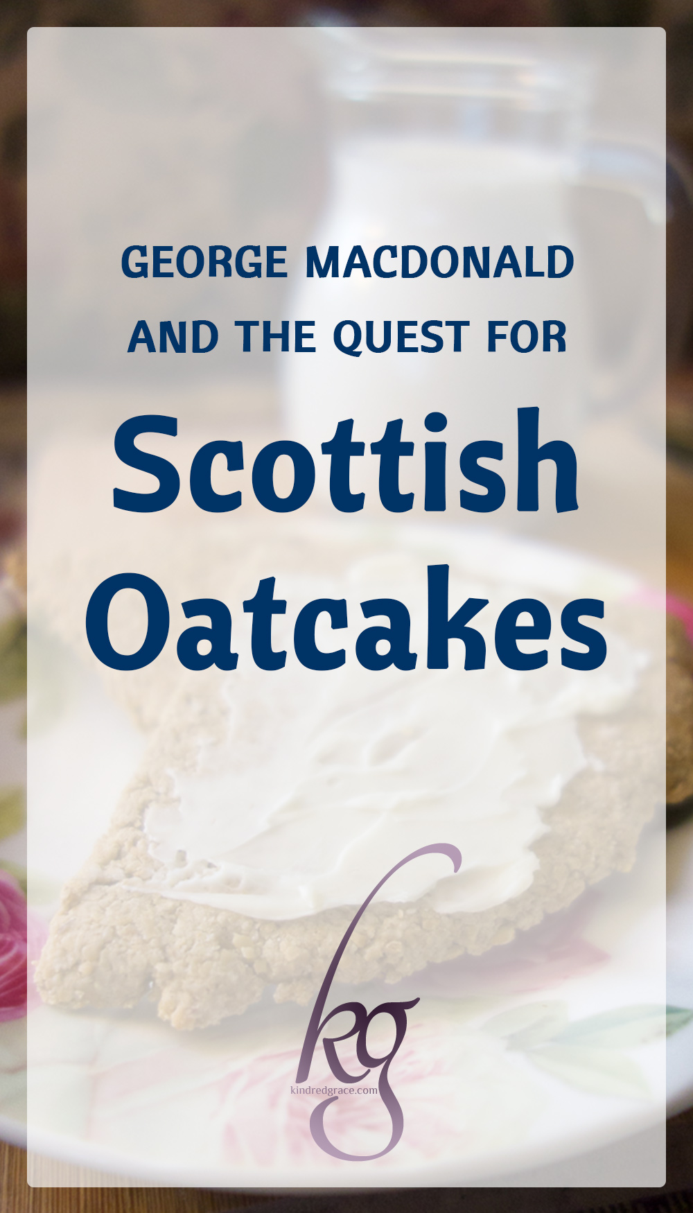While curled up in my Jerusalem home, vicariously roaming the hills of Scotland in George MacDonald's fiction, I noticed that everyone seemed to be eating oatcakes. Feeling a little jealous and a little hungry, back I went on the hunt for an oatcake recipe... via @KindredGrace