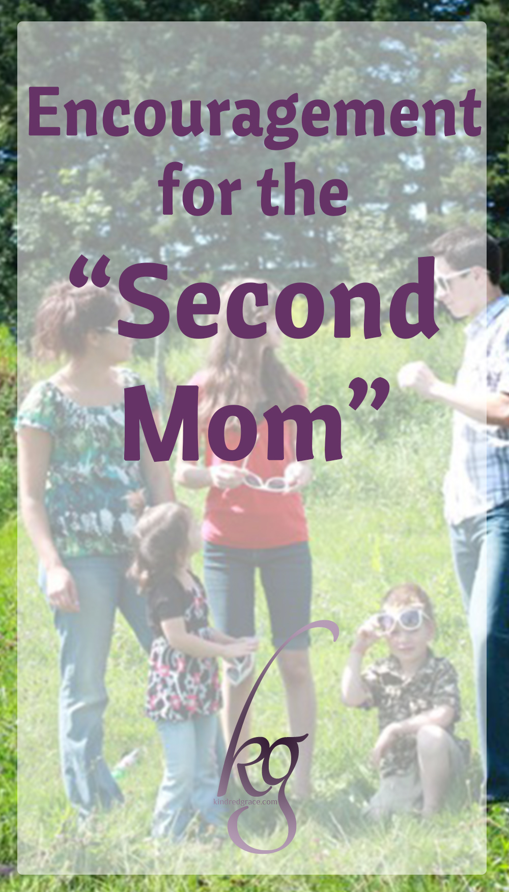 You know you're the second mom in a big family when…