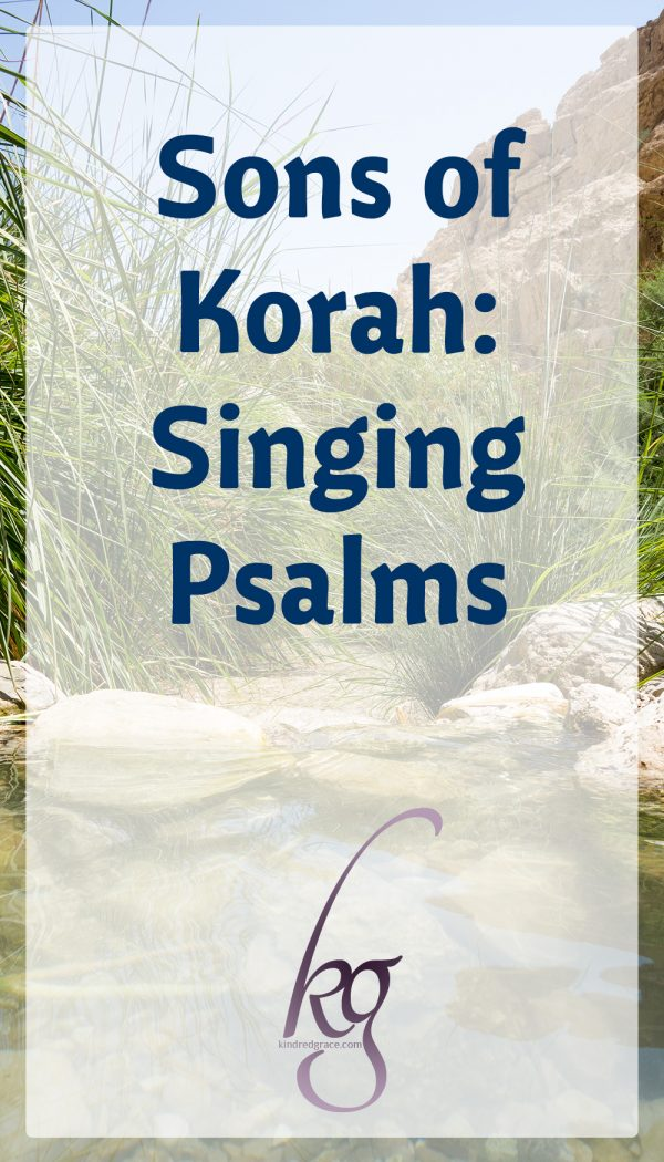 Singing Psalms