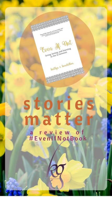 Stories Matter #EvenIfNotBook