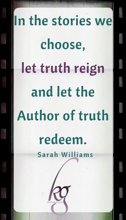 Let truth reign...