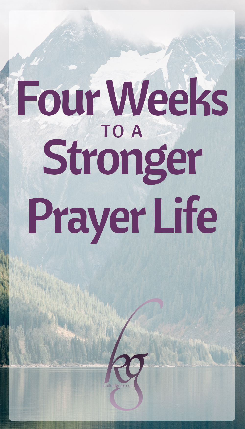 Wanting more than just prayers of desperation and a blessing at the beginning of the meal, I set a four-week plan for myself. I call it my self-prescribed road map to a stronger prayer life, a way to intentionally and methodically strengthen my conversation with my God. via @KindredGrace