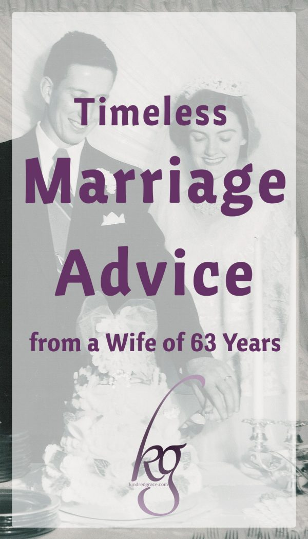 Timeless Marriage Advice from a Wife of 63 Years