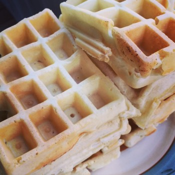 Simple Weekend Waffles