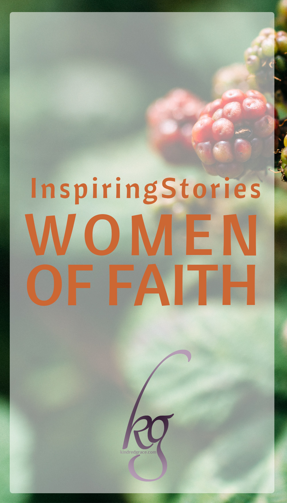 The thing I love most about women of faith is that each woman and each story is unique. Christ is revealed in different ways through their experiences and responses.  via @KindredGrace